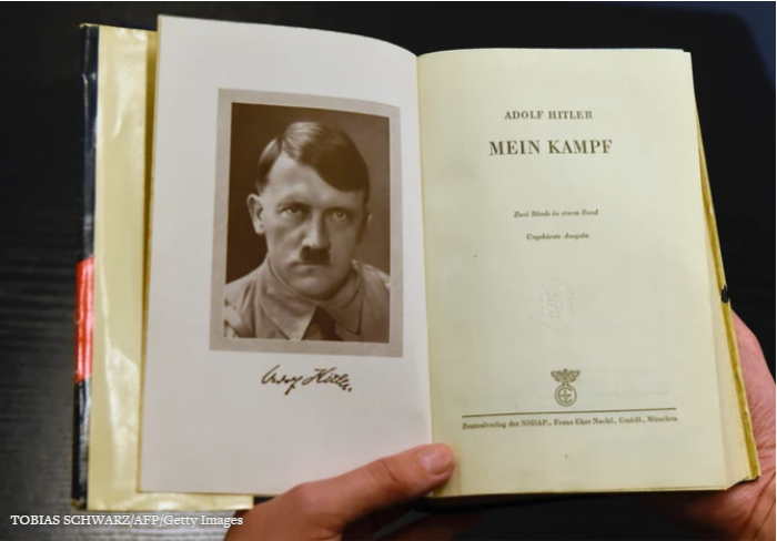 Mein Kampf is to be republished in Germany